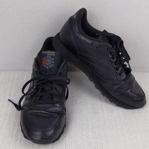 Reebok Classic black sneakers size 11 1/2